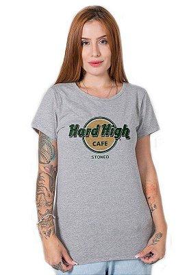 Camiseta Feminina Hard High Cafe