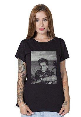 Camiseta Feminina Inked Elvis