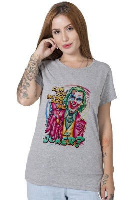 Camiseta Feminina Introduce Joker