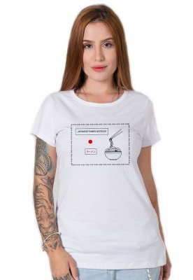 Camiseta Feminina Japanese Ramen