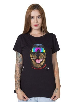 Camiseta Feminina Logan The Dog