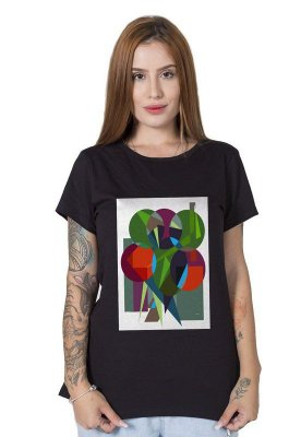 Camiseta Feminina Lúdico