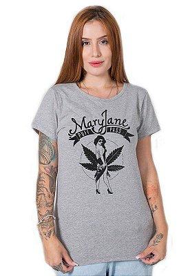 Camiseta Feminina Mary Jane