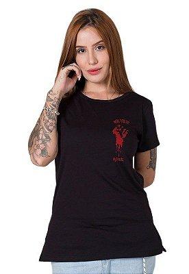 Camiseta Feminina Never More