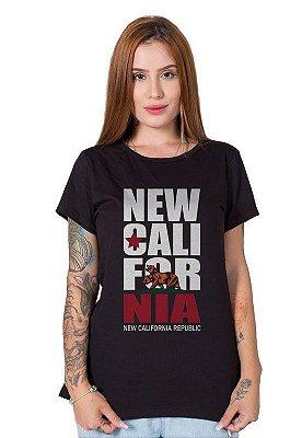 Camiseta Feminina New California Republic