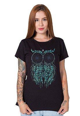 Camiseta Feminina Owl