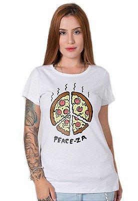 Camiseta Feminina Peace-za