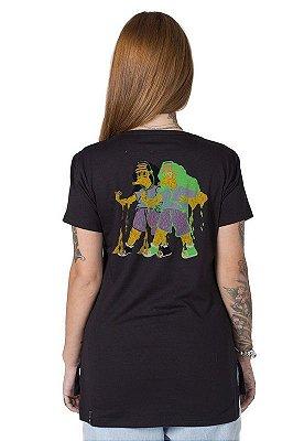Camiseta Feminina Psycho Simp Otto