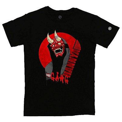Camiseta Masculina Hannya Mask Gang