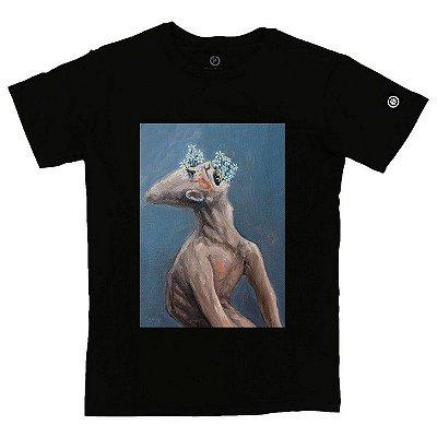 Camiseta Masculina Homem sufocado pela sua própria delicadeza