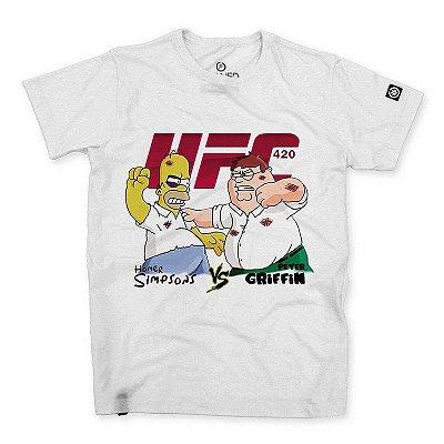Camiseta Masculina Homer x Peter