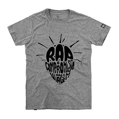 Camiseta Confort O Rap é Compromisso
