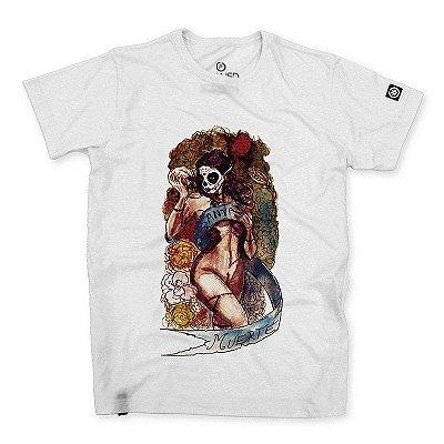 Camiseta Masculina Santa Muerte