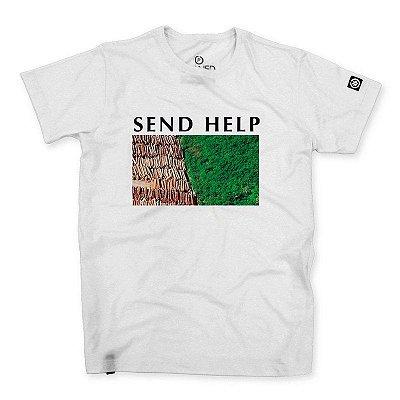 Camiseta Masculina Send Help
