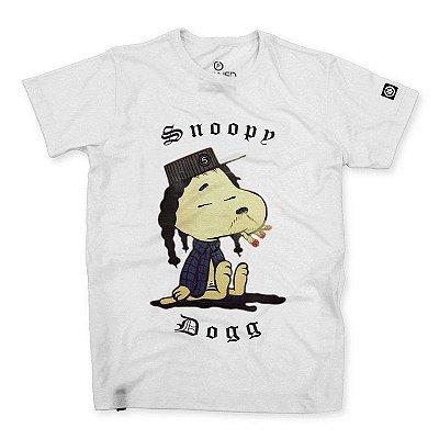Camiseta Masculina Snoopy Dogg