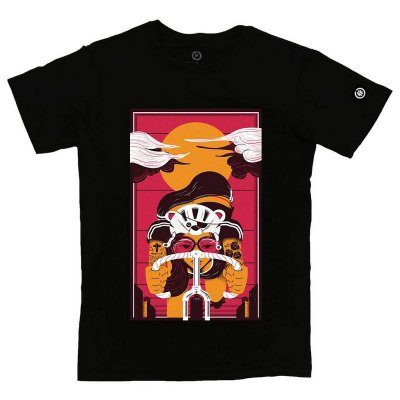 Camiseta Confort Teddy Biker