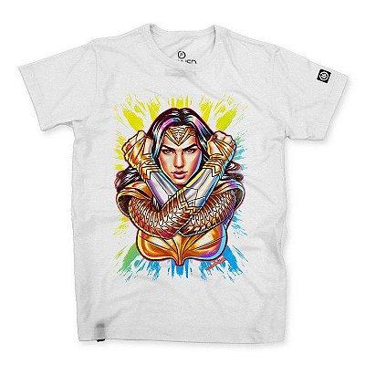 Camiseta Masculina Wonder Woman 84