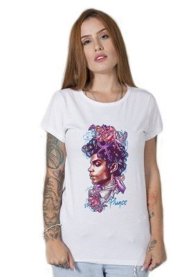 Camiseta Feminina Purple Prince