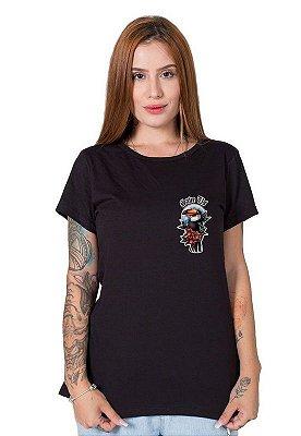 Camiseta Feminina SOS Pantanal Tucano