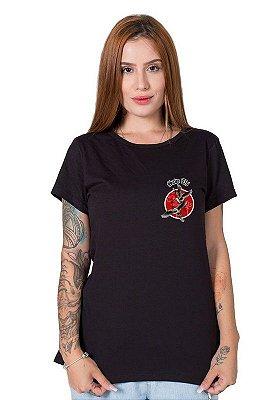 Camiseta Feminina SOS Pantanal Tuiuiú
