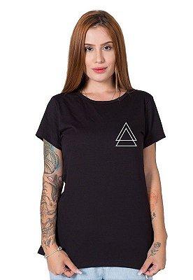 Camiseta Feminina Stoned Triple Triangle