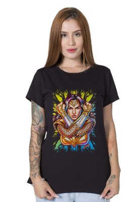 Camiseta Feminina Wonder Woman 84