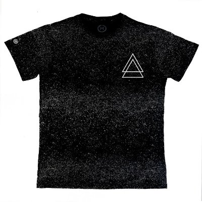 Camiseta Masculina Estonada Triple Triangle