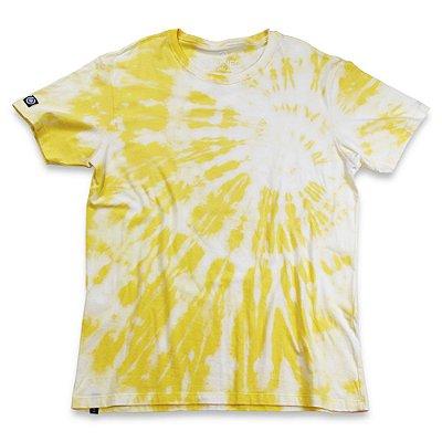 Camiseta Tie Dye Amarela