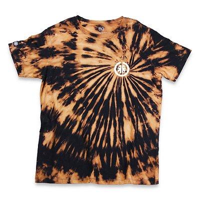 Camiseta Tie Dye Basic Preta