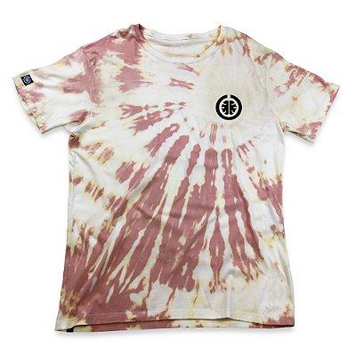 Camiseta Tie Dye Basic Salmão