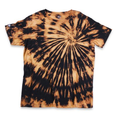 Camiseta Tie Dye Preta