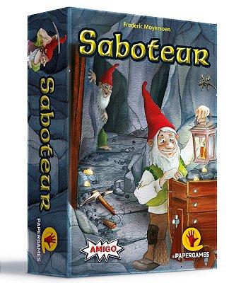 Saboteur + 3 Expansões Grátis (Ouro Perdido, Anão Egoísta e Troca Mapa)