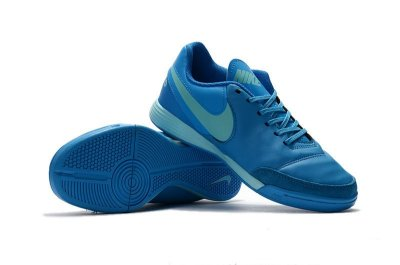 Chuteira Nike Tiempo Genio II Leather IC - Futsal