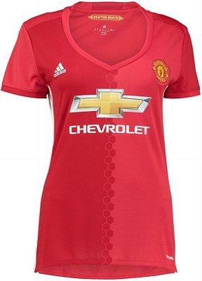 Camisa Feminina Adidas Manchester United