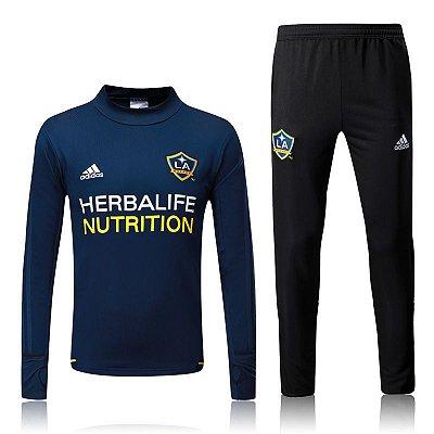 KIT Treinamento Oficial Adidas Los Angeles Galaxy
