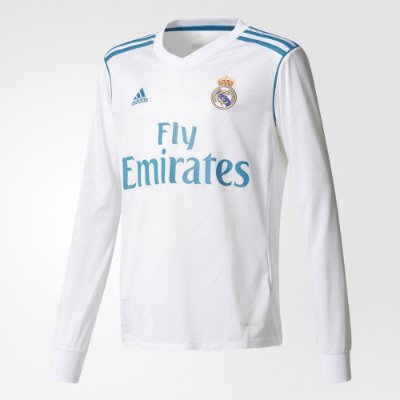 Camisa Adidas Real Madrid Manga Longa
