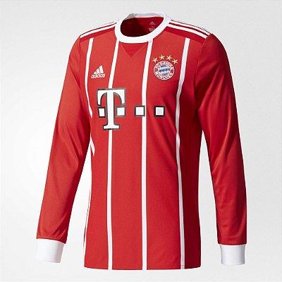 Camisa Adidas Bayern de Munique Manga Longa