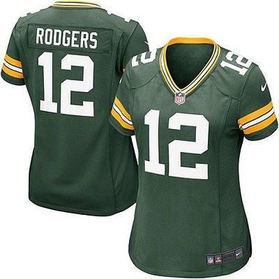 Camisa Futebol Americano Nike Green Bay Packers Feminina