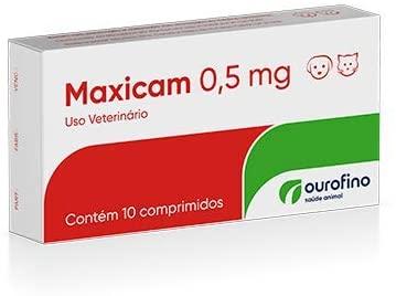 Maxicam 0,5 Mg Cx. C/ 10 Compr.