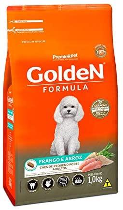 Ração Golden Formula Cães Adultos Raças Pequenas Frango e Arroz Mini Bits 1kg