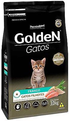 Ração Golden Para Gatos Filhotes Sabor Frango  3Kg