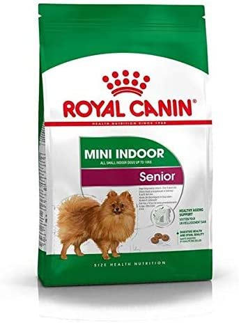 Ração Royal Canin Cães Mini Indoor Senior 2,5Kg