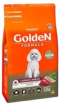 Ração Golden Formula Cães Adultos Raças Pequenas Carne e Arroz Mini Bits 1Kg