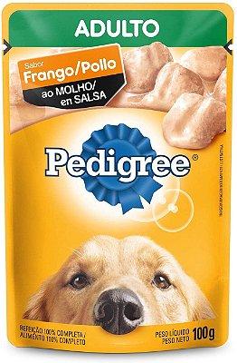 Ração Úmida Pedigree Sachê Frango ao Molho Cães Adultos
