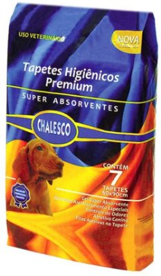 Tapete Higiênico Chalesco 7 Unid.