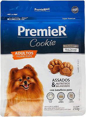 Petisco Premier Cookie Cães Adultos Pequenos 250G