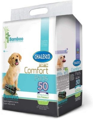 Tapete Higiênico Confort Bamboo C/50 60X80Cm