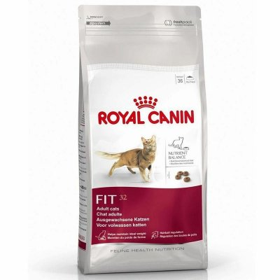 Ração Royal Canin Feline Fit 32 (400g, 1,5kg e 7,5kg)