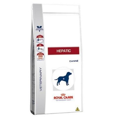 Ração Royal Canin Canine Hepatic (2kg e 10,1kg)