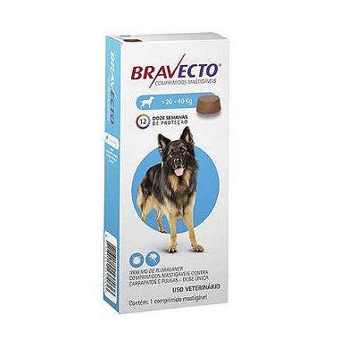 Bravecto para Cães - de 20 A 40 Kg